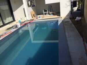 Pool granite tiling Mt Lawley Perth